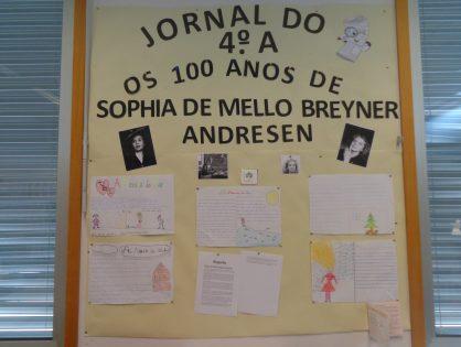Os 100 anos de Sophia de Mello Breyner Andresen