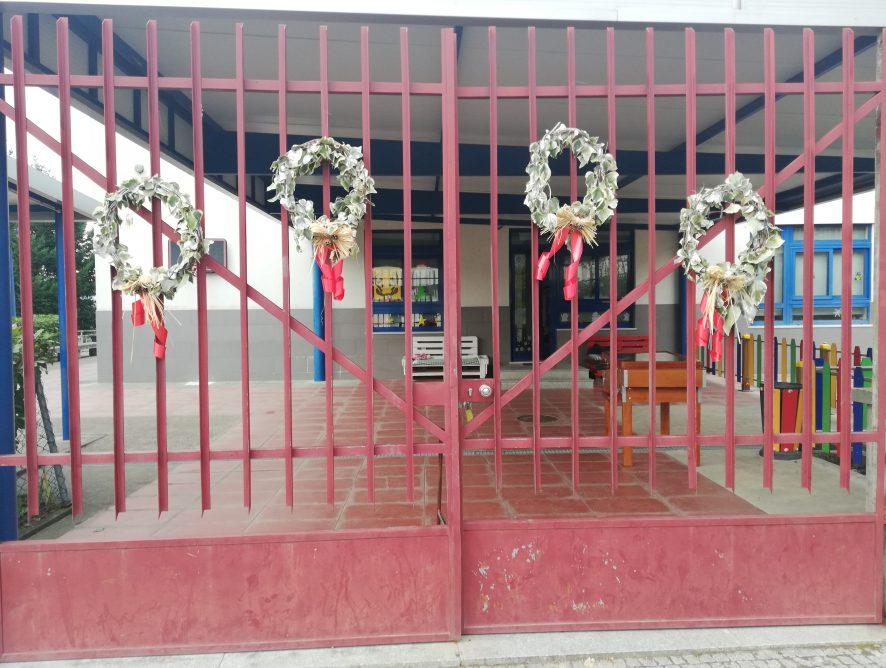Trabalhos realizados no Centro Escolar de Cerva