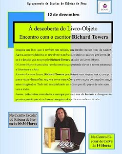 12 de dezembro - Visita do escritor/autor Richard Towers