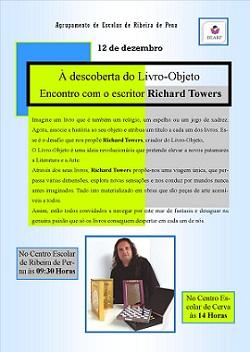 12 de dezembro - Visita do escritor/autor Richard Towers