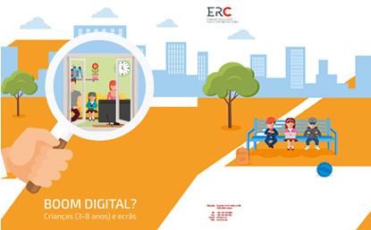ERC publica estudo Boom Digital? Crianças (3-8 anos) e Ecrãs