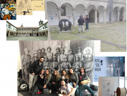 Visita de Estudo ao Museu de Souza Cardoso em Amarante e ao Museu Som e Imagem de Vila Real