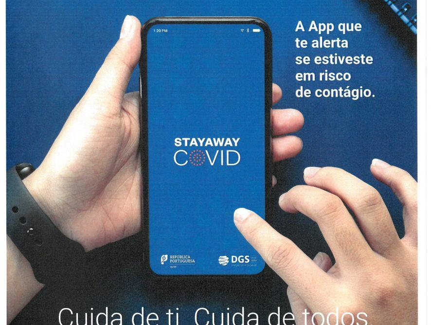 Campanha Sensibilização e divulgação Stayaway Covid