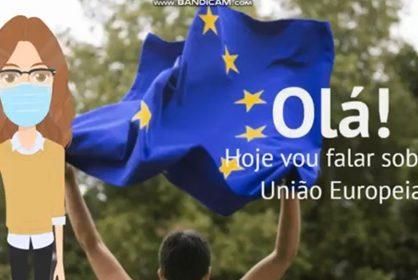 Comemoração do Dia da União Europeia.